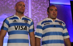 New Argentina rugby kit 2011
