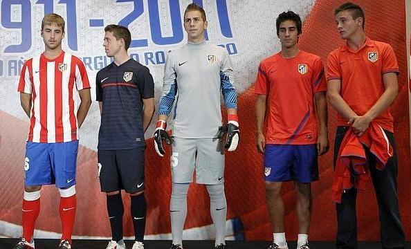 New Atletico Madrid Home Kit 11-12