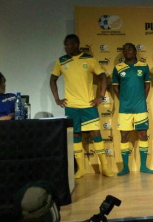 New Bafana Puma Kit