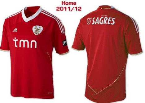 New Benfica Jersey 2011