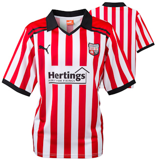 New Brentford Home Shirt 2011-12