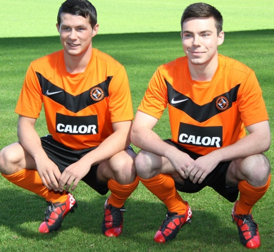 New Dundee United Home Kit 11-12 SPL