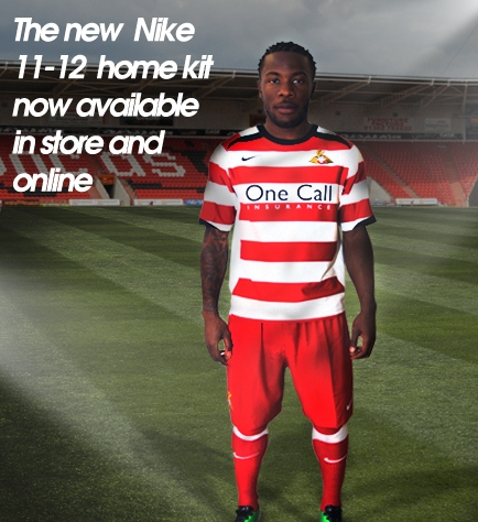 New Home Kit Doncaster Rovers 11-12 Nike