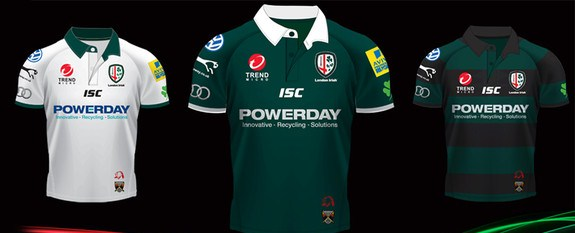 New London Irish Shirts 2011-12