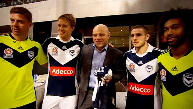New Melbourne Victory Kit Adidas 2011-12