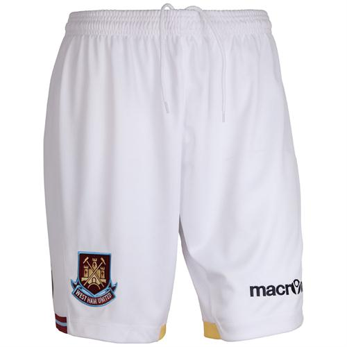 WHUFC Shorts 11-12 Home Kit
