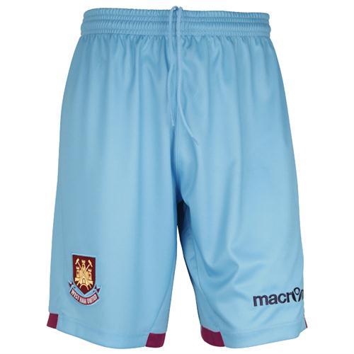 West Ham Away Kit 11-12 Shorts