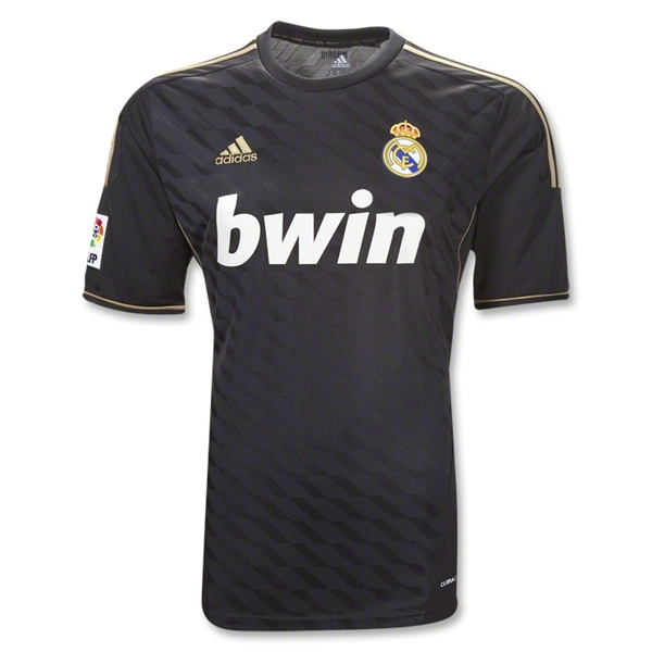 Black Real Madrid Jersey