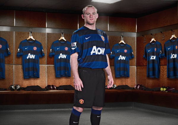 Blue Manchester United Kit 11-12 Rooney