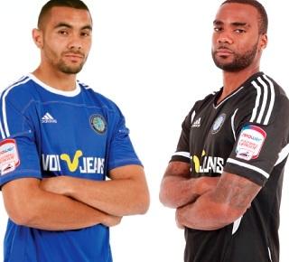 Macclesfield Town Home Away Kits 2011-2012