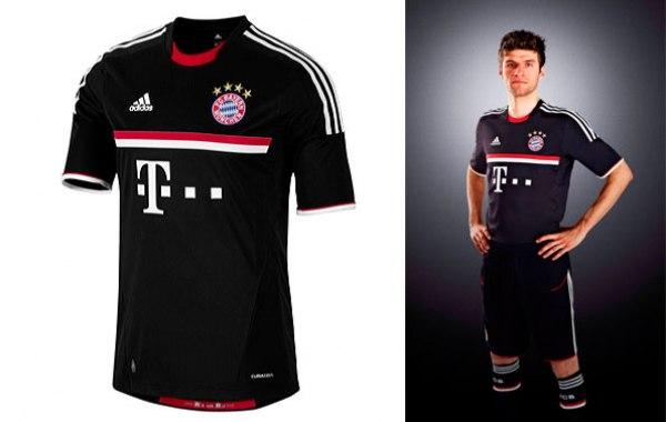 New Bayern Munich Jersey 11-12