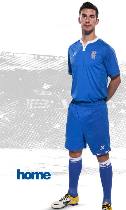 New Birmingham City Home Kit 11-12