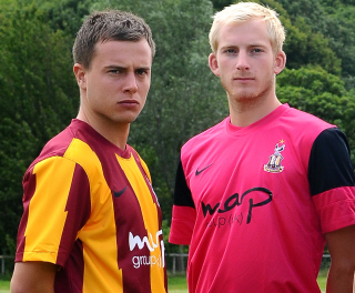 New Bradford City Kit 2011-12 Home Away Pink