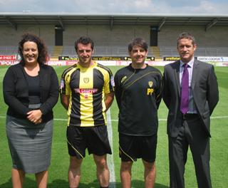 New Burton Albion Kit 11-12