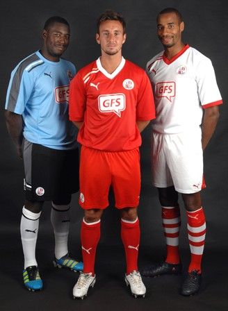 New Crawley Town Kit 11-12 Home Away Third