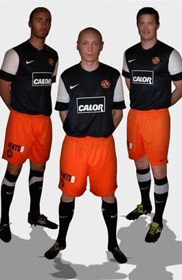 New Dundee United Away Kit 11-12