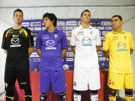 New Fiorentina Kits 11-12