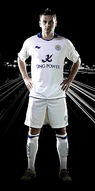New Leicester Away Kit 11-12