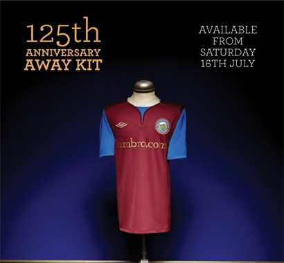 New Linfield Away Kit 2011