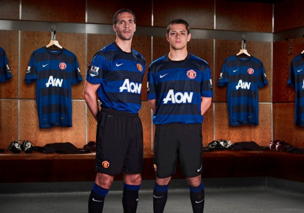 New Manchester United Away Kit 2012