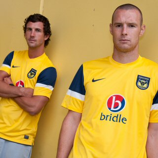 New Oxford United Home Shirt 11-12