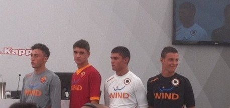 New AS Roma Kit 11-12 Home Away Third