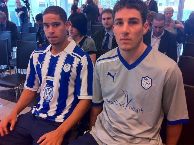 New Sheffield Wednesday Kit 11-12 Home Away