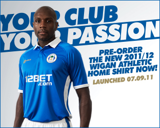 New Wigan Home Kit 11-12