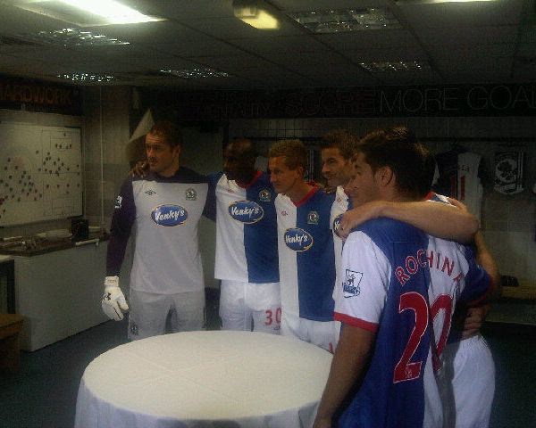 Venkys Blackburn Home Kit 2012
