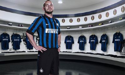 Wesley Sneijder New Inter Kit 11-12