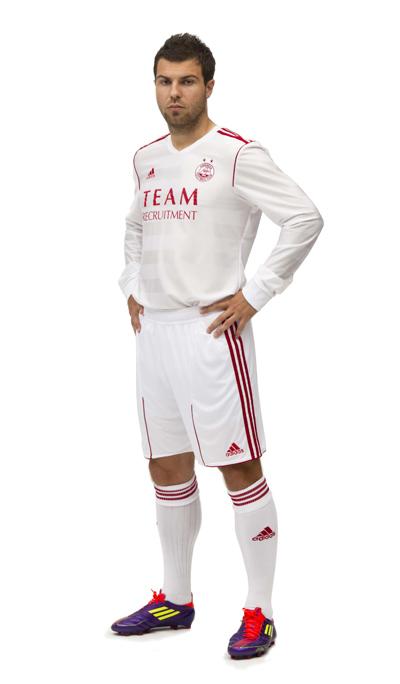 White Aberdeen Kit Adidas