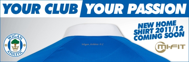 Wigan Athletic New Kit Teaser