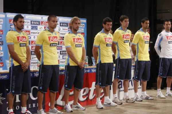 Yellow Napoli Shirt 2011 2012