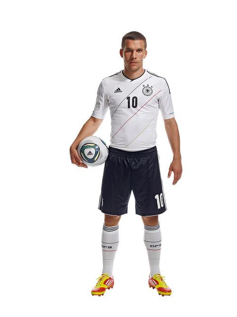 Lukas Podolski Germany Euro 2012 Shirt