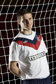 New Rangers Third Strip 11-12