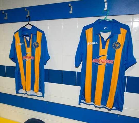 New Shrewsbury Home Shirt 2011 2012