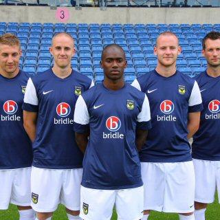 Nike Oxford United Away Shirt