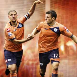 Orange QPR Kit Away 11-12