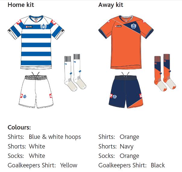 Queens Park Rangers Home Kit 11-12 QPR Away Shirt 2011-12