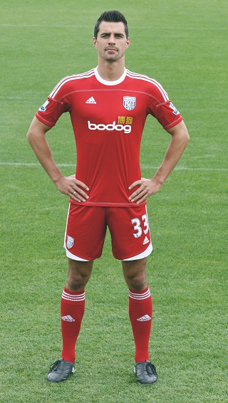 Red West Brom Kit 11-12
