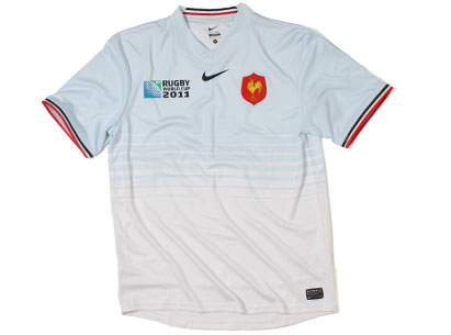 Alternate France RWC Shirt 2011
