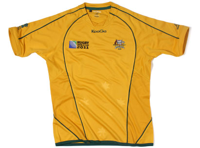 Australia Rugby World Cup Jersey 2011