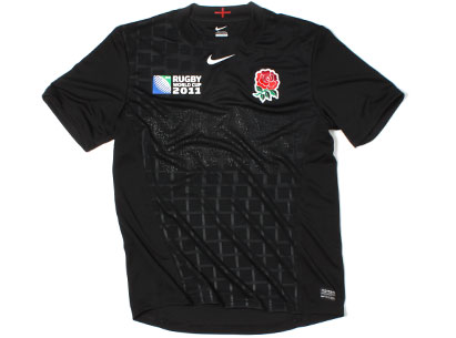 England Alternate Rugby World Cup Jersey