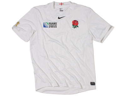 England Rugby World Cup Shirt 2011