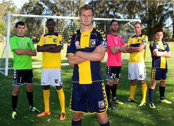 Hummel Central Coast Mariners Jersey 2011 