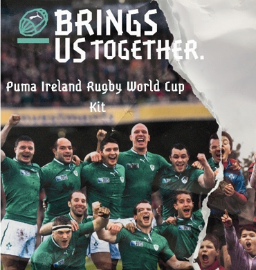 Ireland Rugby World Cup Shirt