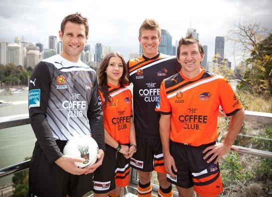 New Brisbane Roar Kit 2011