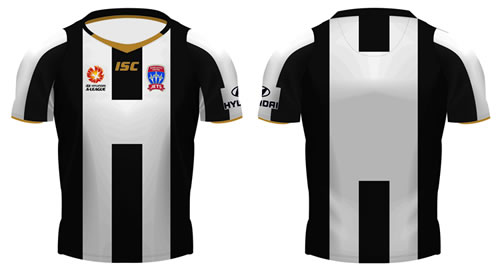 Newcastle Jets New Jersey 2011 2012