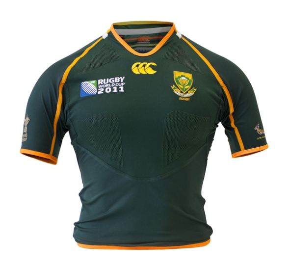 Springboks Rugby World Cup Shirt 2011