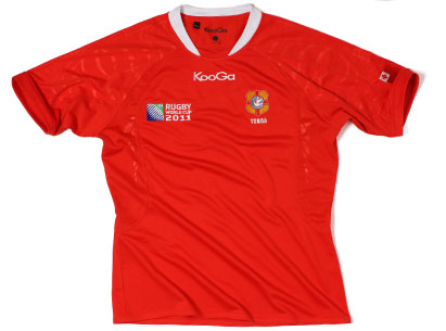 Tonga Rugby World Cup Shirt